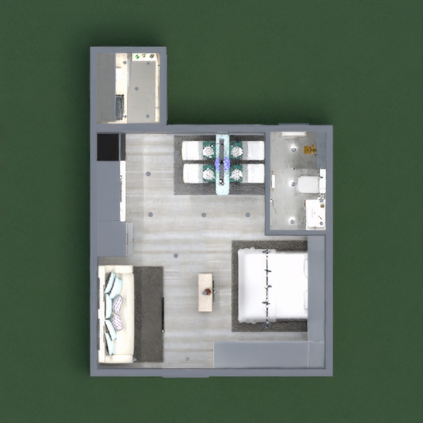 floorplans decoração faça você mesmo quarto estúdio 3d