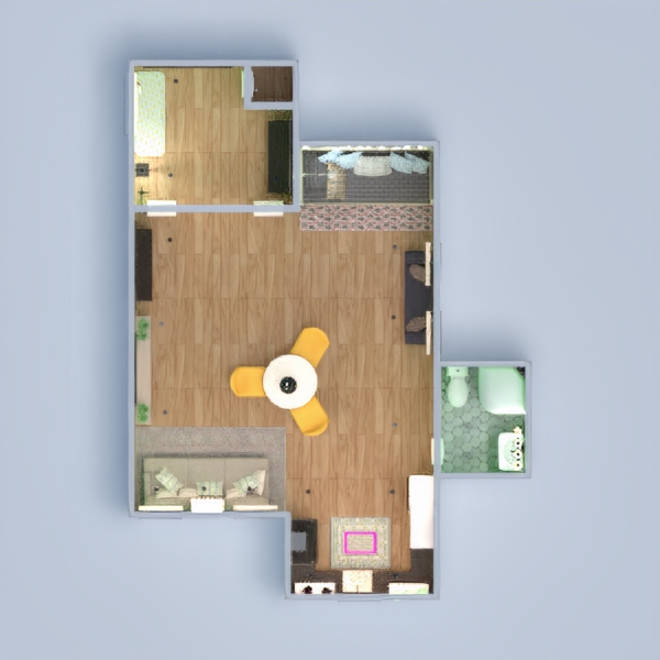 floorplans apartment studio 3d