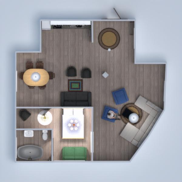 floorplans haus küche kinderzimmer architektur 3d