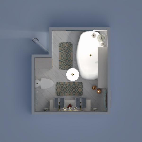 floorplans bagno illuminazione 3d