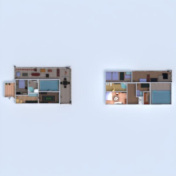 floorplans casa muebles cuarto de baño dormitorio salón exterior habitación infantil comedor 3d