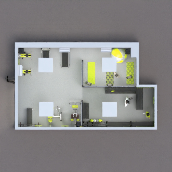 floorplans decor lighting architecture storage studio 3d