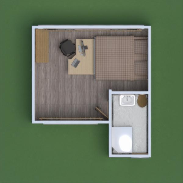 floorplans appartamento casa famiglia architettura monolocale 3d