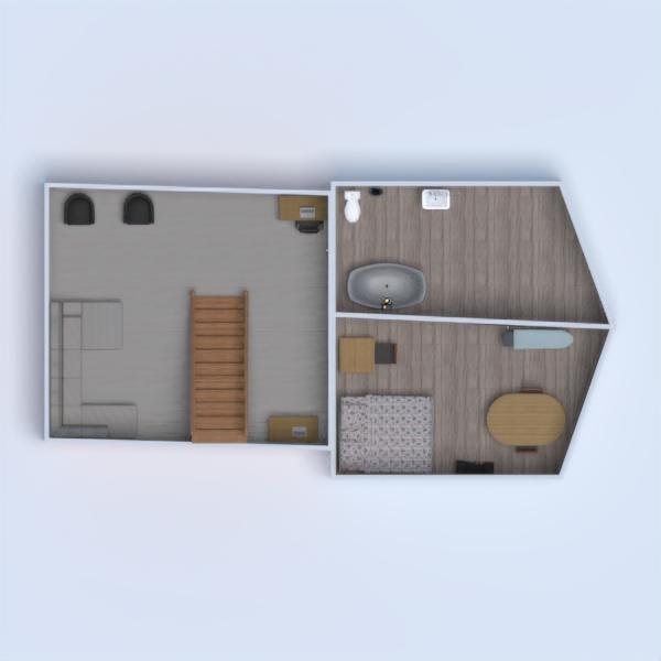 floorplans maison meubles cuisine maison salle à manger 3d