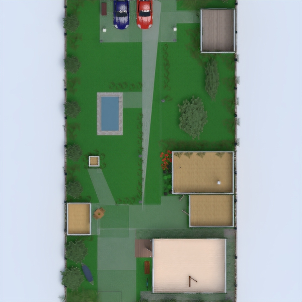 floorplans casa garaje 3d