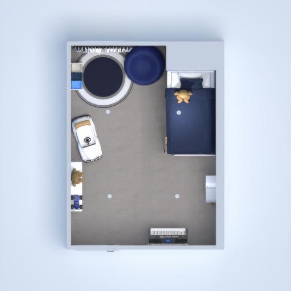 floorplans wystrój wnętrz pokój diecięcy oświetlenie 3d