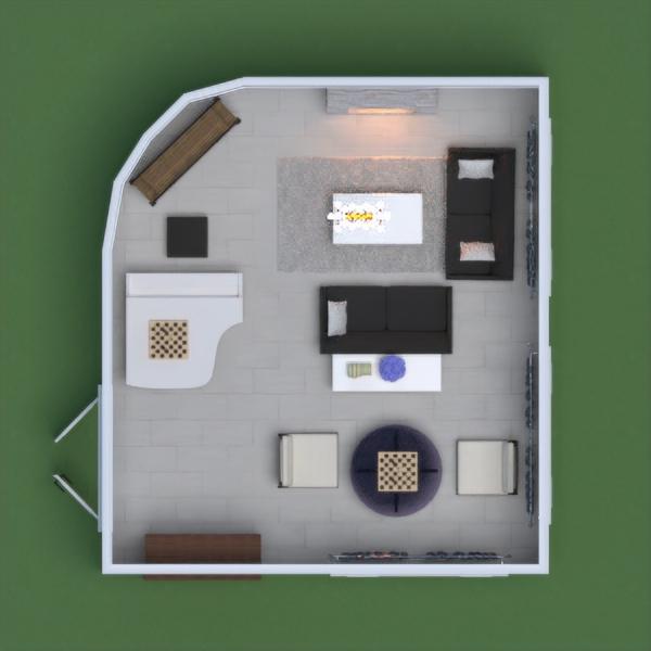 floorplans salon maison 3d