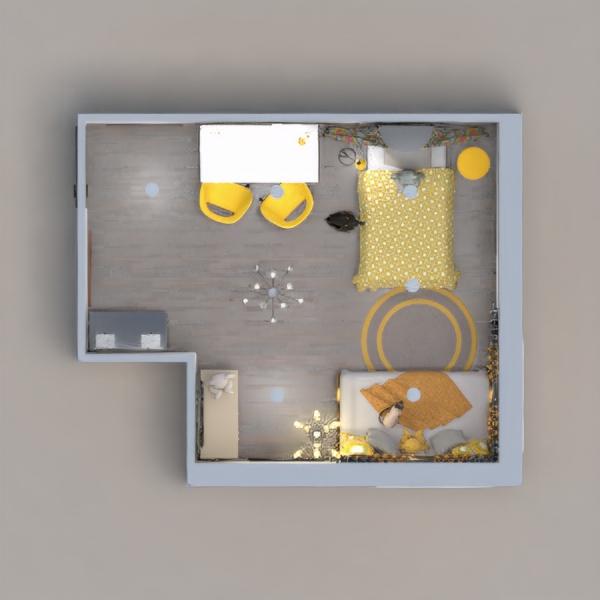 планировки мебель декор спальня детская освещение 3d