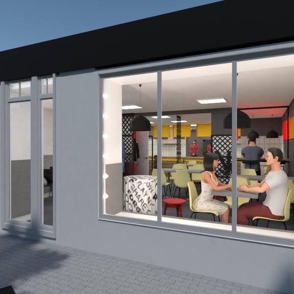 floorplans furniture lighting renovation cafe studio 3d