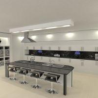 floorplans apartamento cozinha 3d