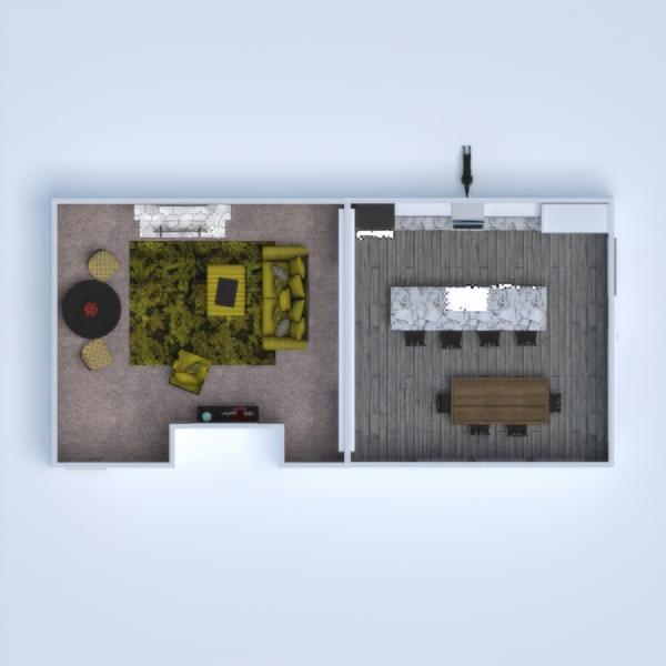 floorplans casa arredamento decorazioni sala pranzo 3d