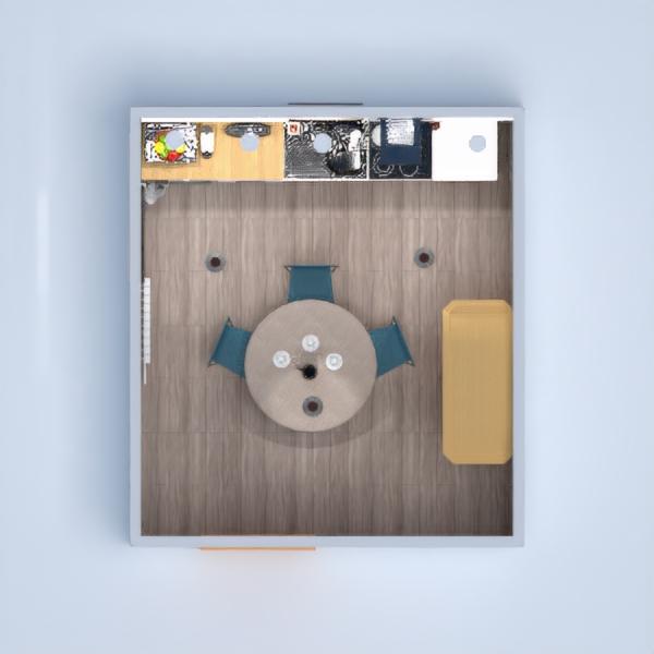floorplans furniture kitchen dining room architecture 3d