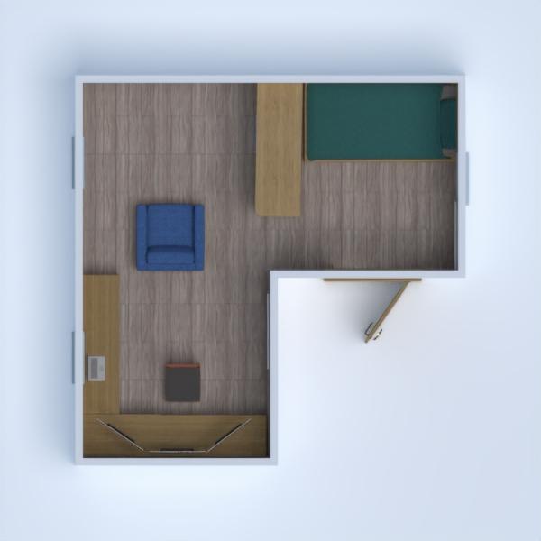 floorplans vaikų kambarys studija 3d