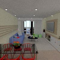 floorplans apartamento mobílias decoração quarto cozinha iluminação utensílios domésticos sala de jantar arquitetura patamar 3d