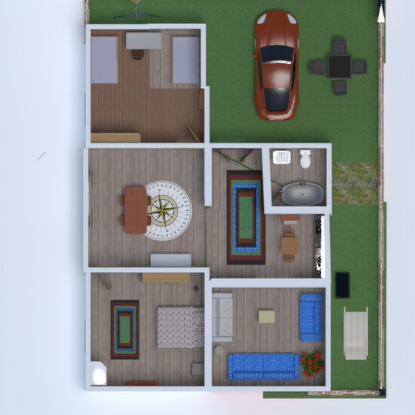 floorplans beleuchtung 3d