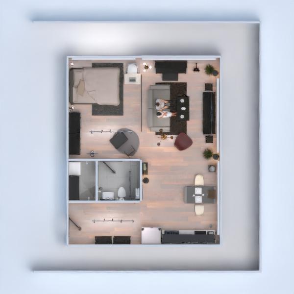планировки квартира мебель декор освещение студия 3d
