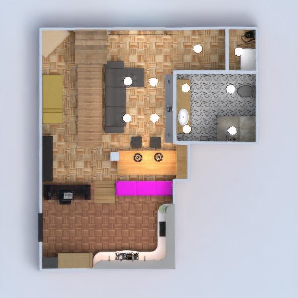 floorplans mieszkanie dom meble wystrój wnętrz zrób to sam łazienka sypialnia pokój dzienny kuchnia biuro oświetlenie gospodarstwo domowe przechowywanie mieszkanie typu studio wejście 3d