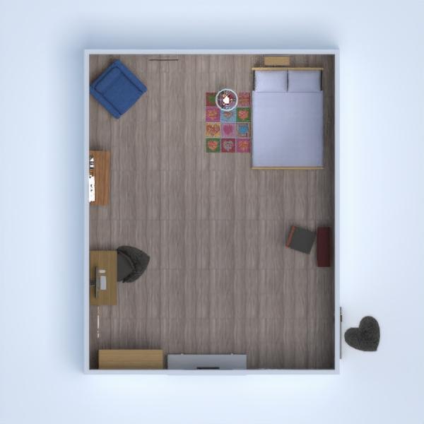 progetti decorazioni angolo fai-da-te camera da letto paesaggio architettura 3d
