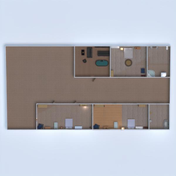 floorplans haus garage küche kinderzimmer büro 3d