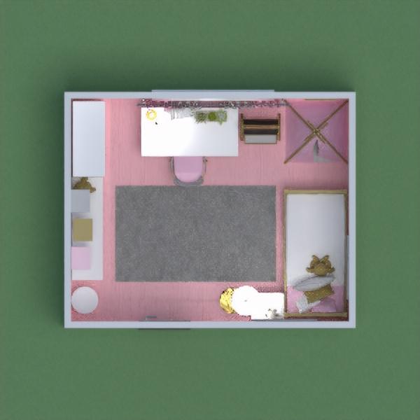 планировки дом мебель декор спальня детская 3d
