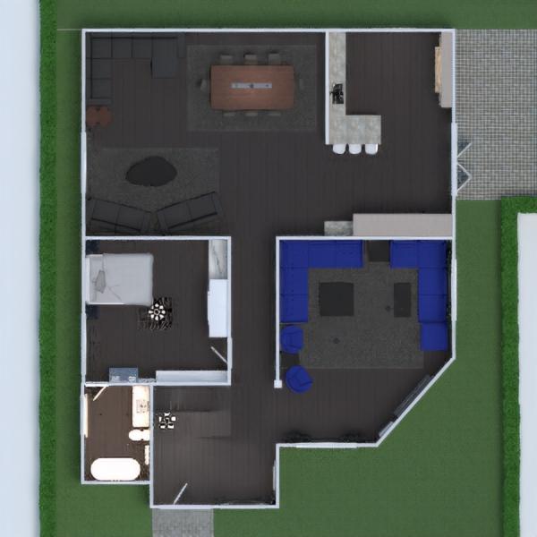 floorplans namas vonia vaikų kambarys namų apyvoka valgomasis 3d