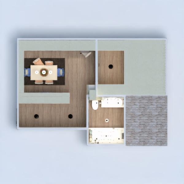 floorplans apartment terrace furniture decor diy bathroom bedroom kitchen outdoor lighting dining room studio 3d