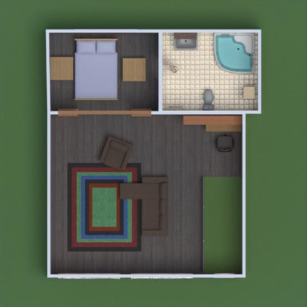 floorplans mieszkanie dom meble łazienka sypialnia garaż kuchnia jadalnia przechowywanie 3d