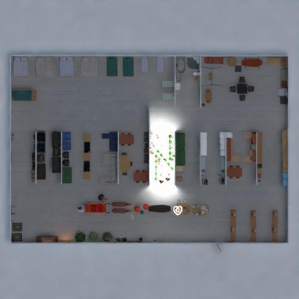 floorplans meble łazienka sypialnia pokój dzienny oświetlenie 3d
