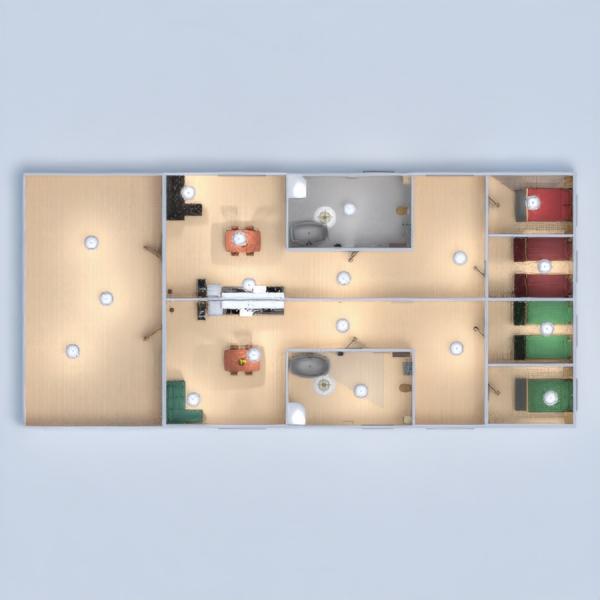 floorplans apartamento cuarto de baño dormitorio exterior hogar 3d