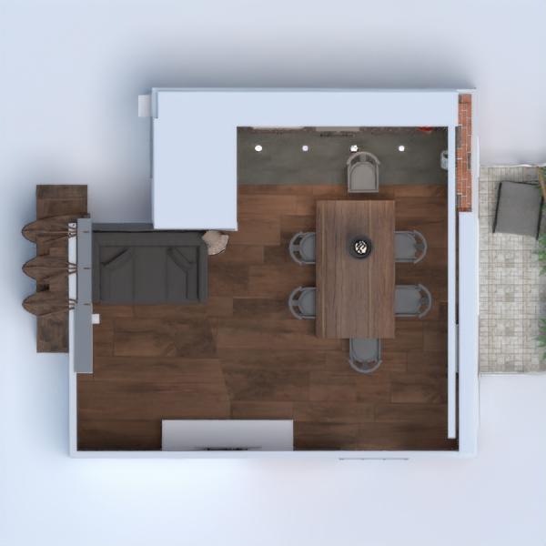 floorplans apartamento casa mobílias decoração faça você mesmo quarto cozinha iluminação reforma utensílios domésticos despensa estúdio 3d