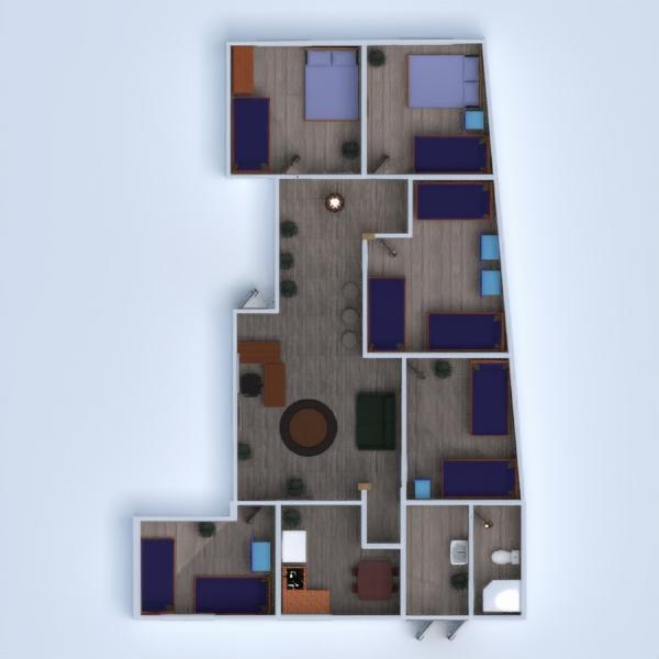 floorplans casa escritório arquitetura 3d