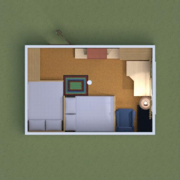 floorplans casa faça você mesmo dormitório quarto infantil 3d