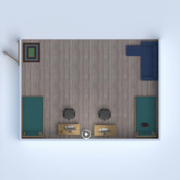 floorplans baldai miegamasis apšvietimas аrchitektūra studija 3d