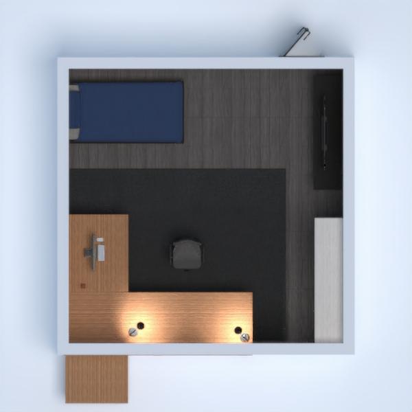 floorplans decoración dormitorio habitación infantil despacho 3d