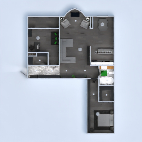 floorplans квартира мебель декор сделай сам ванная спальня гостиная кухня 3d