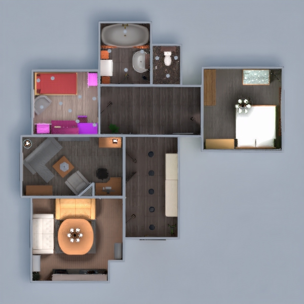 floorplans apartment furniture diy bathroom bedroom living room kitchen kids room household storage 3d