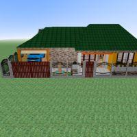 планировки дом ванная спальня гараж кухня офис столовая хранение прихожая 3d