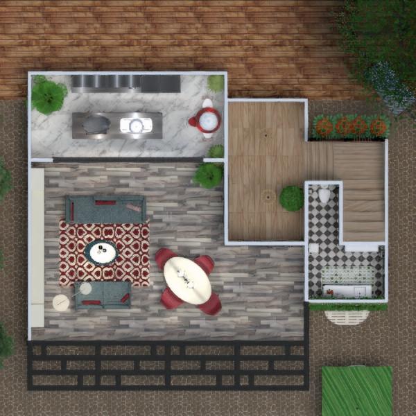 floorplans casa terraza muebles decoración cuarto de baño dormitorio salón garaje cocina habitación infantil iluminación comedor arquitectura trastero descansillo 3d