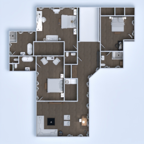 floorplans casa muebles decoración bricolaje cuarto de baño dormitorio salón garaje cocina exterior habitación infantil despacho iluminación reforma paisaje hogar comedor arquitectura trastero descansillo 3d