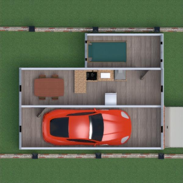 floorplans house diy garage kitchen 3d