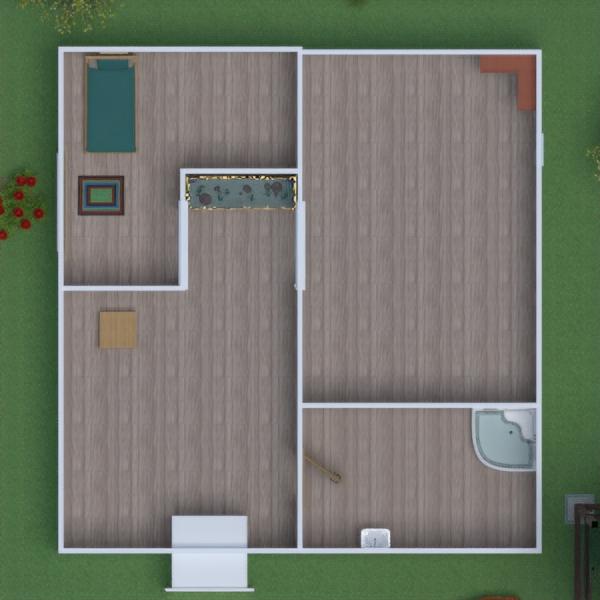floorplans apartamento casa mobílias 3d
