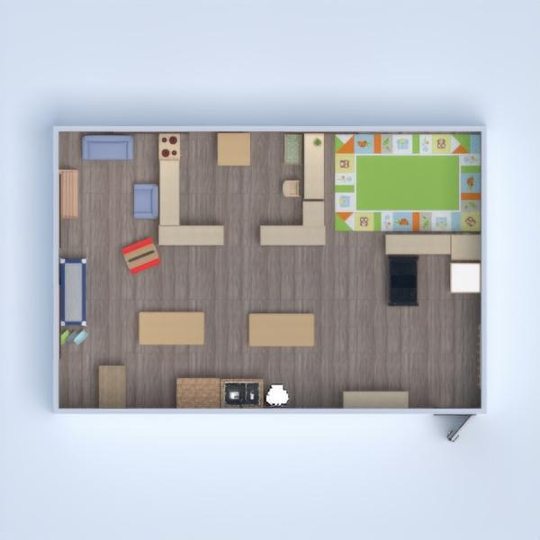 floorplans pokój diecięcy 3d