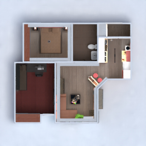 floorplans appartement 3d