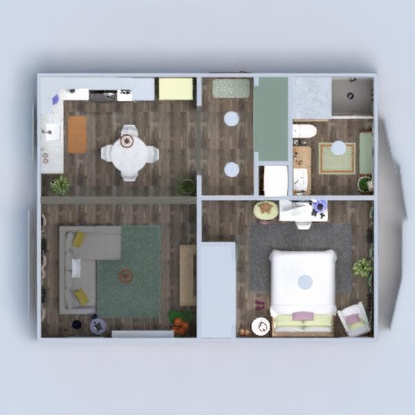 floorplans appartement meubles décoration diy salle de bains chambre à coucher salon cuisine eclairage paysage maison salle à manger architecture espace de rangement entrée 3d