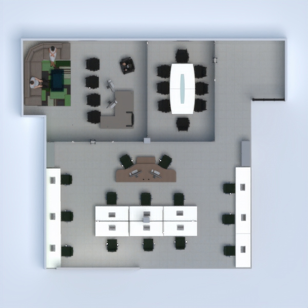 floorplans apartamento despacho 3d