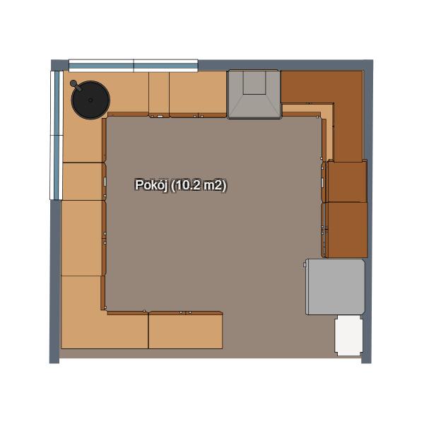 floorplans кухня 3d