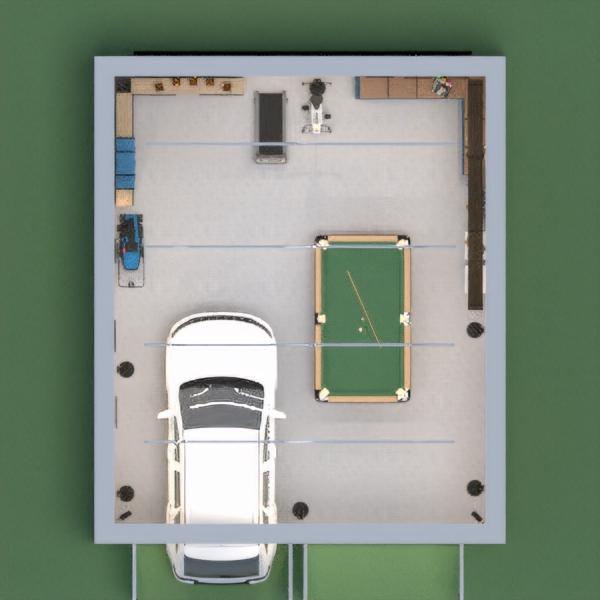 floorplans casa quarto garagem iluminação arquitetura 3d