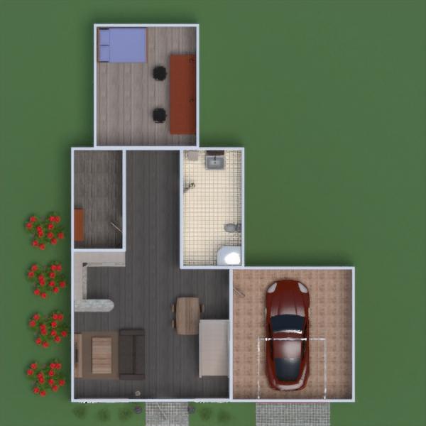 floorplans butas vonia miegamasis svetainė garažas virtuvė eksterjeras biuras apšvietimas valgomasis аrchitektūra sandėliukas studija 3d