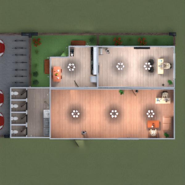 floorplans appartamento arredamento decorazioni garage vano scale 3d