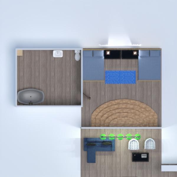 floorplans bagno camera da letto saggiorno cucina 3d